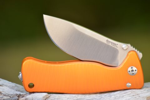 Lion Steel Mini Molleta - Orange