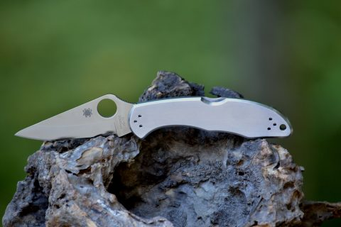 Spyderco Delica 4 - Stainless