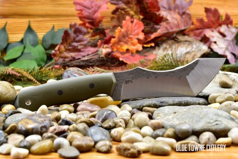 Fletcher Knives Doom Variant - OD Green G10 FL040501