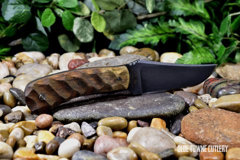 Winkler Knives II - Blue Ridge Hunter, Caswell/Sculpted Walnut