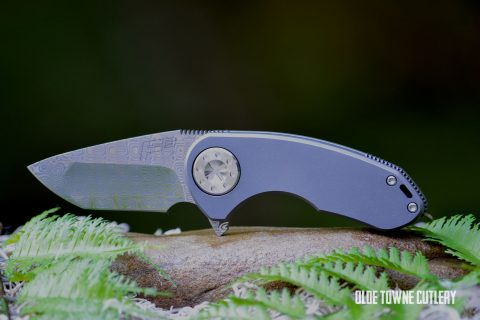 Curtiss Knives F3 Compact Compound Grind - Damasteel
