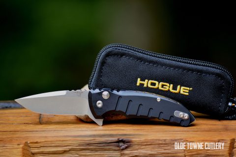 Hogue Knives X1-Micro Manual Matte Black ~ 24170