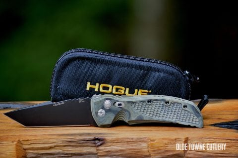Hogue Knives 34108 EX-A01 G-10 G-Mascus Green