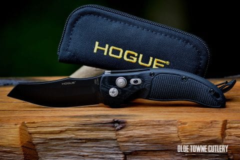 Hogue Knives EX-A04 Solid Black ~ 34420