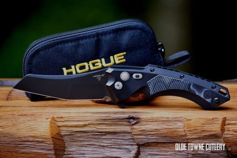 Hogue Knives X5 G-Mascus Black G10 Insert ~ 34549