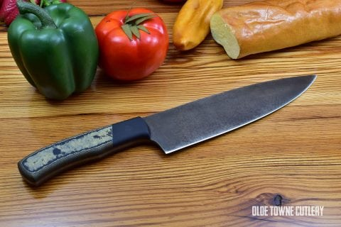Alfa Knife Black Pearl Large European Chef (#3)