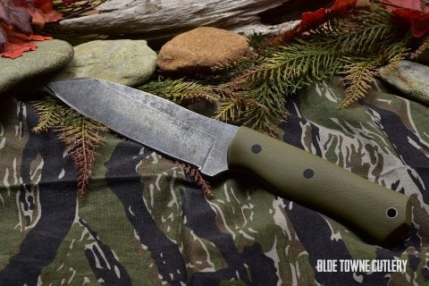 Alfa Knife Patriot Olive Drab G10/Black