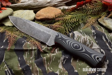Alfa Knife AK2 Variant Saber Tooth Grey/Black G10