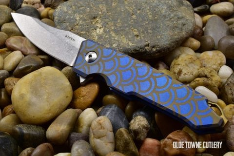 Spartan Blades Metis Stone Washed Anodized