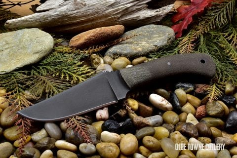 Winkler Knives Blue Ridge Hunter Green Micarta