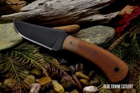 Winkler Knives Blue Ridge Hunter Tan Micarta