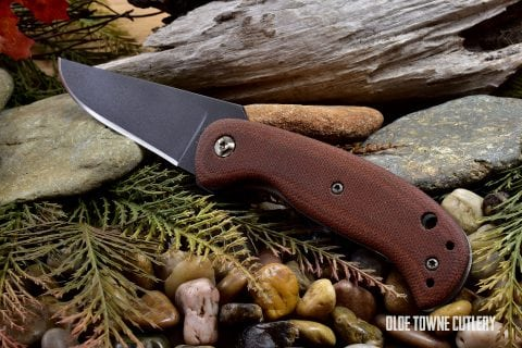 Winkler Knives II F3 Folder Tan Micarta