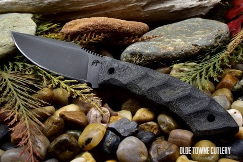Winkler/Jason Knight Everycarry Sculpted Black Micarta