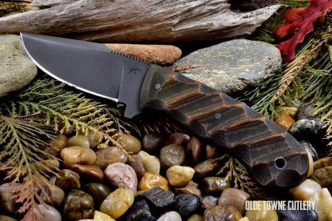 Winkler/Jason Knight Jaeger Sculpted Relic Tan Micarta