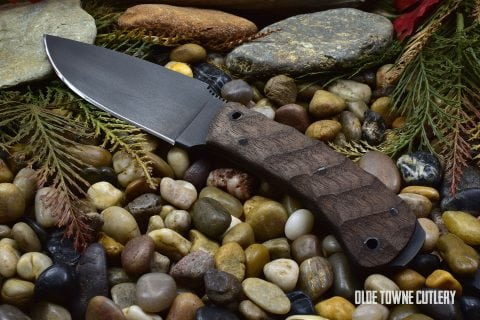 Winkler Knives Woodsman Sculpted Walnut