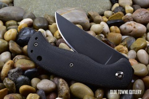 Winkler Knives II F3 Folder Black Micarta