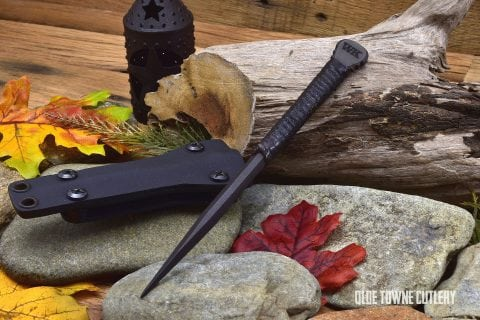 Winkler Knives II Pick - Leather wrapped