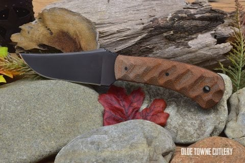 Winkler Knives Blue Ridge Hunter Sculpted Tan Micarta