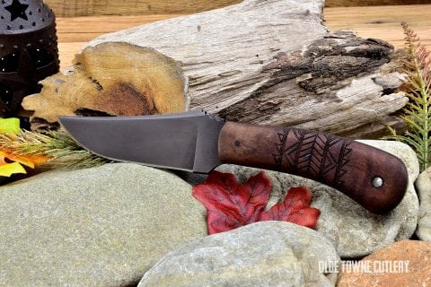Winkler Knives Blue Ridge Hunter Maple Tribal