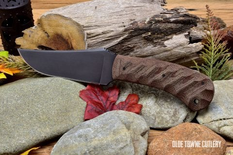 Winkler Knives II - Belt Knife Sculpted Tan Micarta