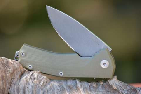Lion Steel KUR - Green G-10