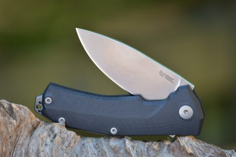 Lion Steel KUR - Black G-10