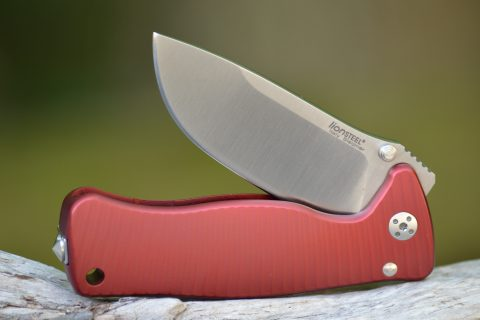 Lion Steel Mini Molleta - Red