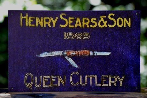 Henry Sears & Son Tin Sign