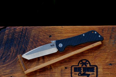 Southern Grind Bad Monkey Emerson - Tumbled Satin, Twill-Weave Carbon Fiber, Tanto