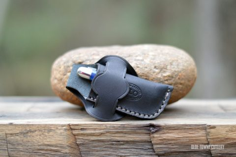 Mexican Loop Sheath for Medium Slipjoint - Black