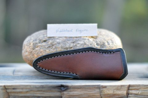 Sheath for Fiddleback Forge Esquire