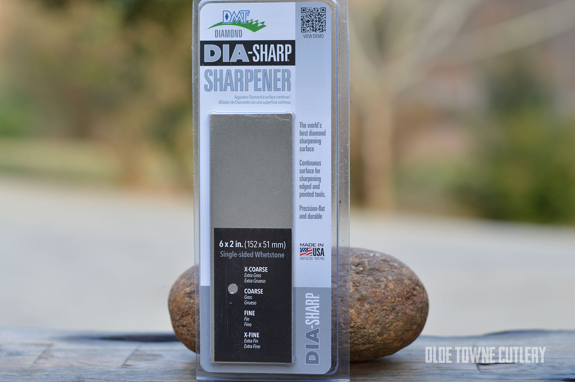 DMT D6C Diamond DIA-Sharp Sharpener Coarse