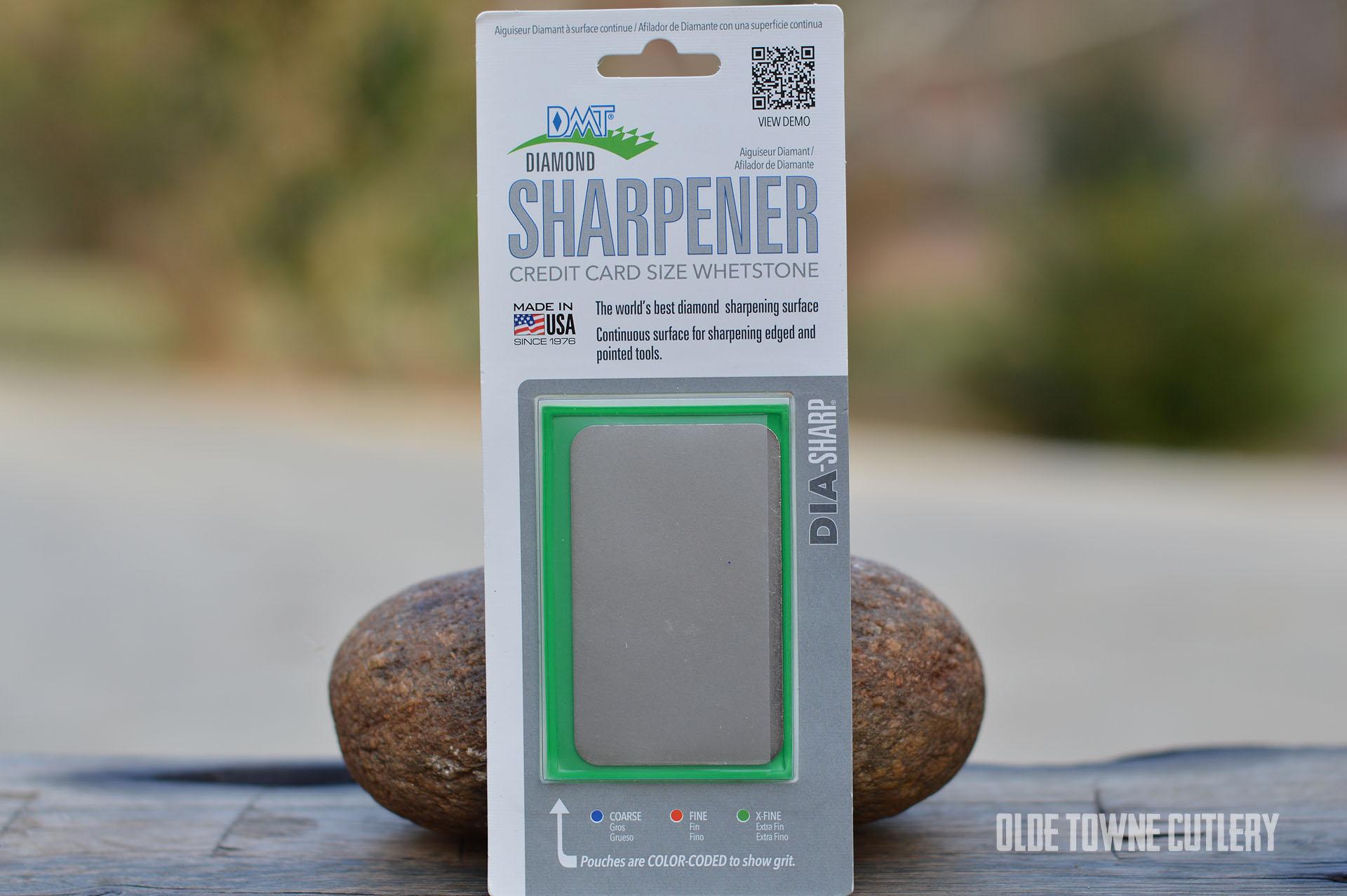 DMT D3E Diamond Sharpener Extra Fine (Green)
