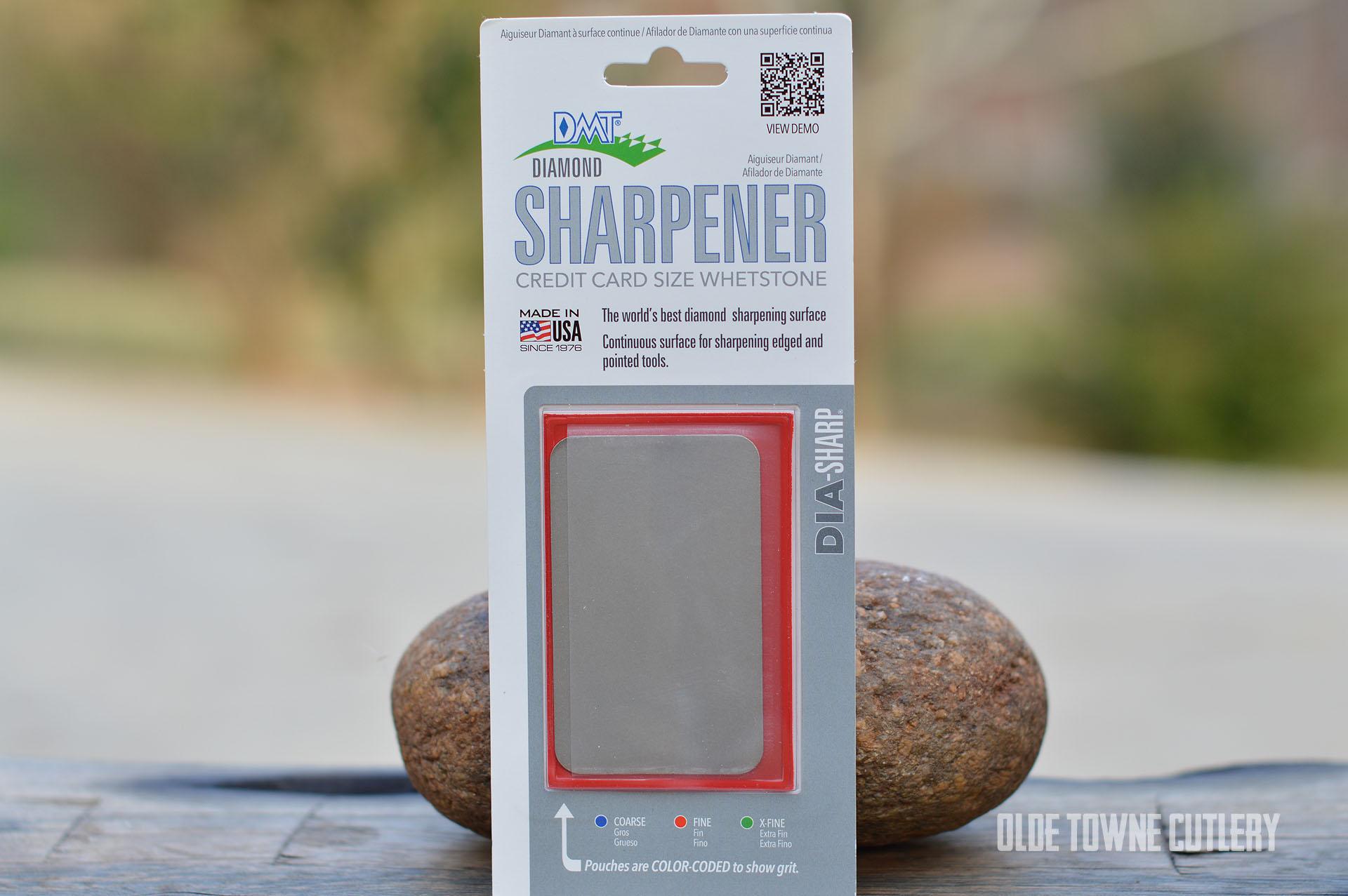 DMT D3F Diamond Sharpener Fine (Red)