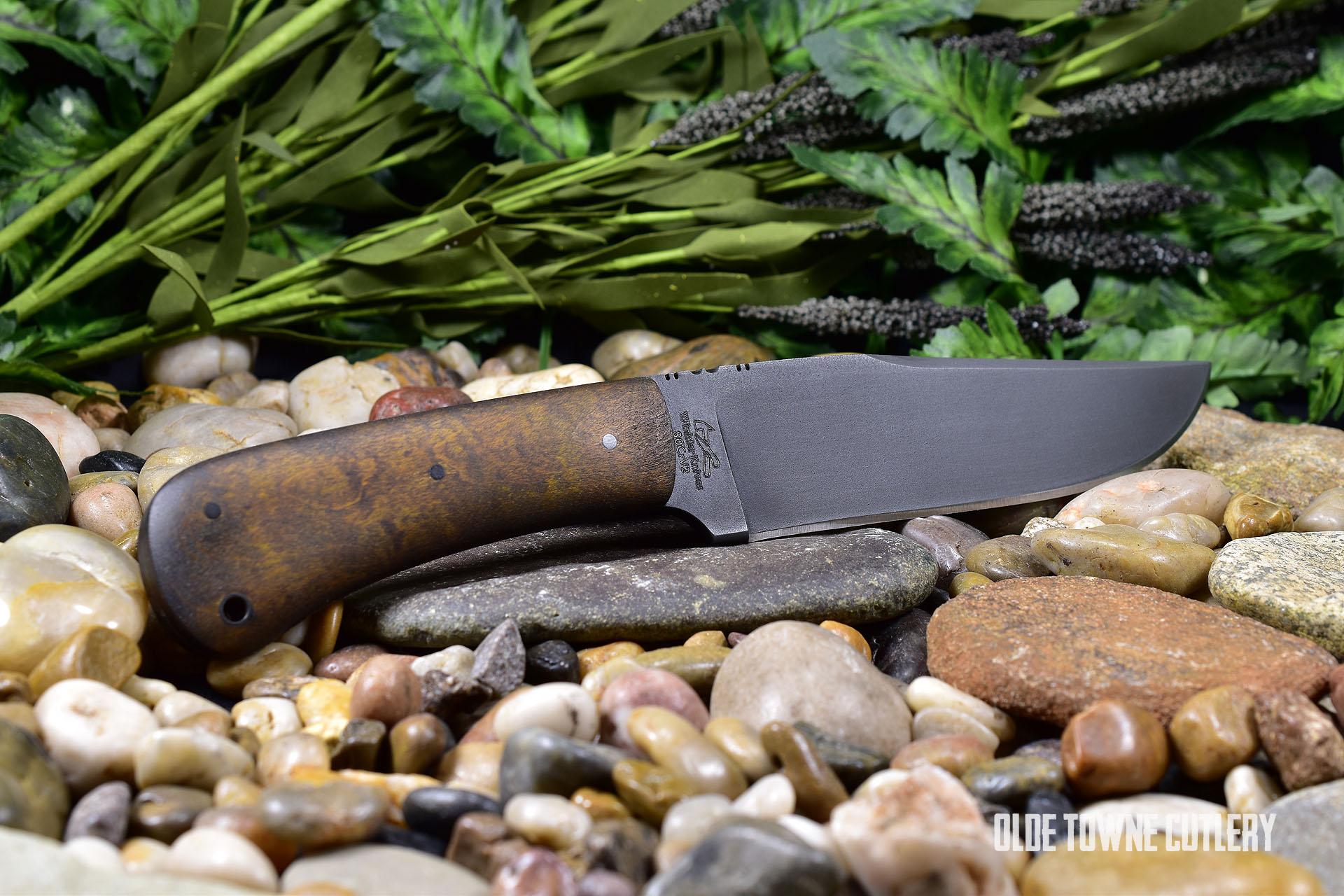 Winkler Knives II Field Knife Curly Maple