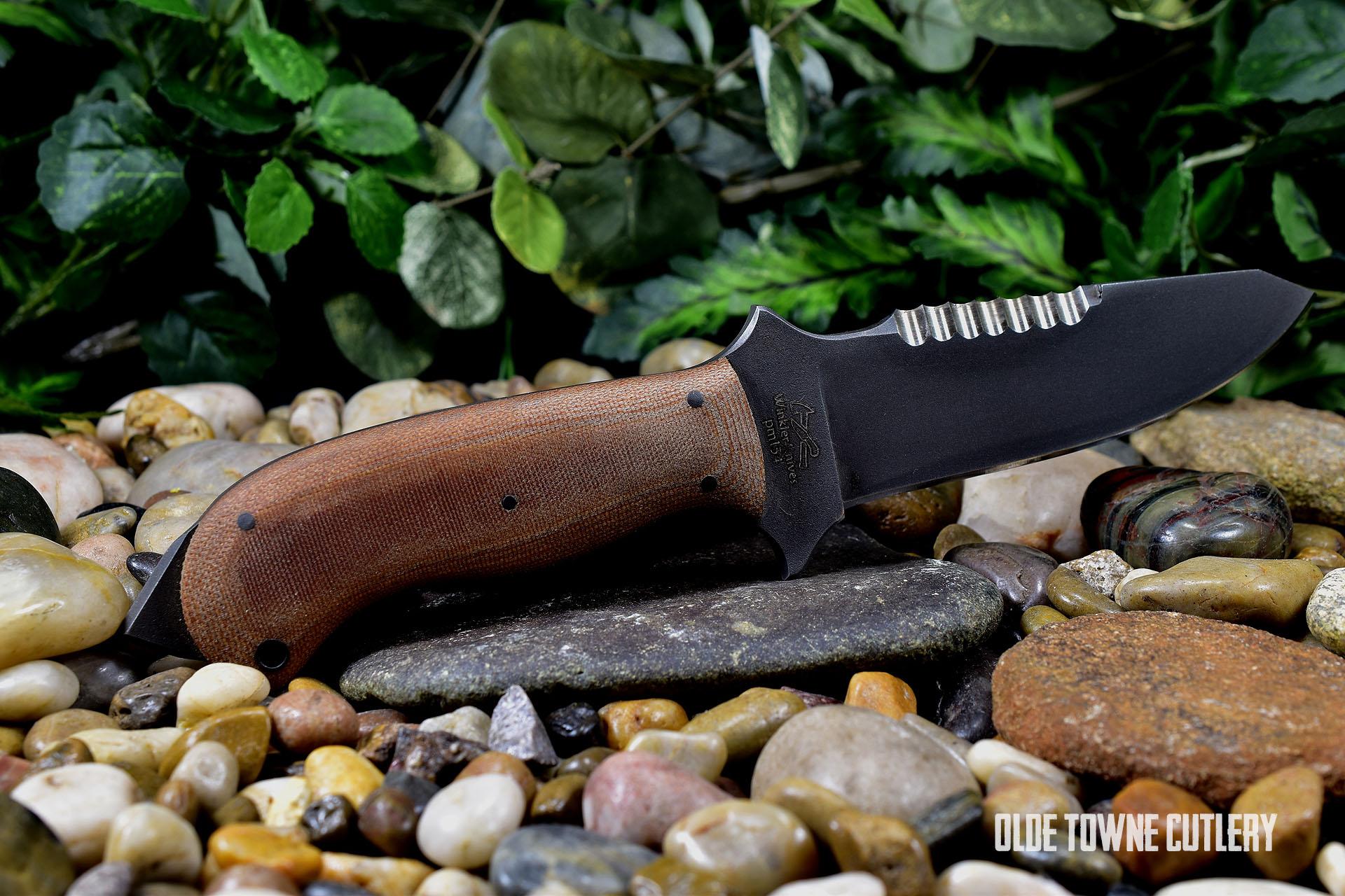 Winkler Knives II SAR Tan Micarta