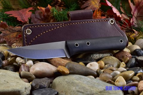 Cumming Bladeworks CB030301 Bushmaster Black Canvas
