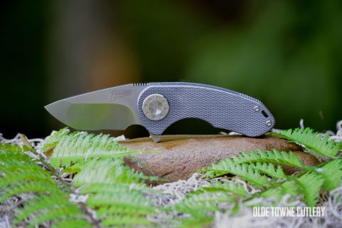 Curtiss Knives F3 Compact Compound Grind - Stonewash