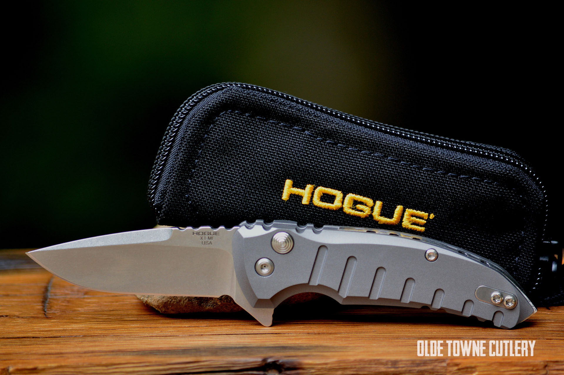 Hogue Knives 24172 X1 Micro Manual Matte Grey Knives For Sale