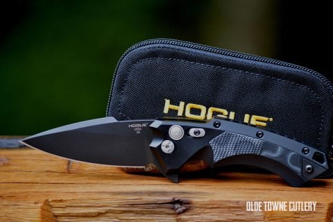 Hogue Knives 34579 X5 Black Cerakote G-10