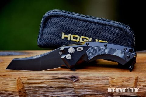 Hogue Knives 34569 X5 G-Mascus Black G10 Insert