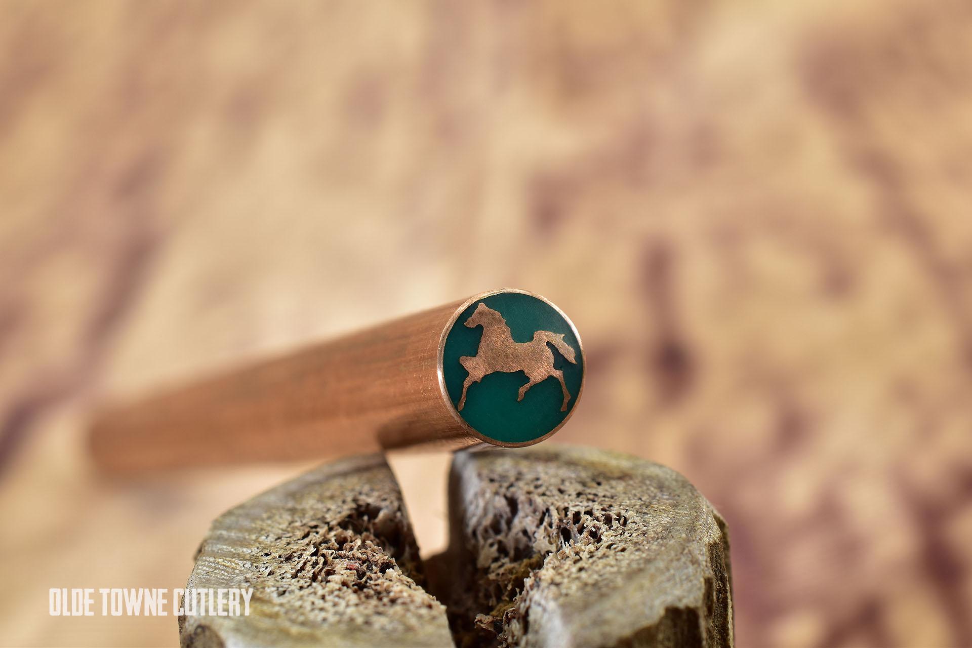 "Balatsky HORSE Mosaic Pin - Horse 5/16"" x 4"""