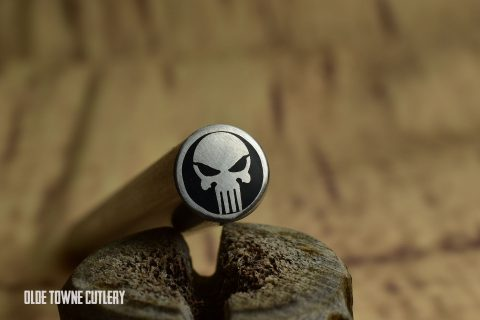 "Balatsky BLKPUN Mosaic Pin - Punisher 3/8"" x 4"""