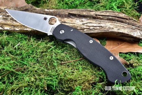 Spyderco C36GPE Military Model Satin/Black G-10