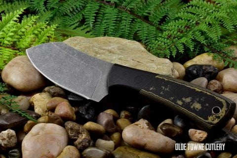 Alfa Knife Mini-Muk - Richlite Black/Grey