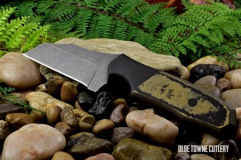 Alfa Knife AK5 - Richlite Black/Black