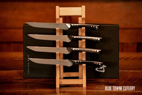 Shun DMS0430 Shima 4 pc Steak Set