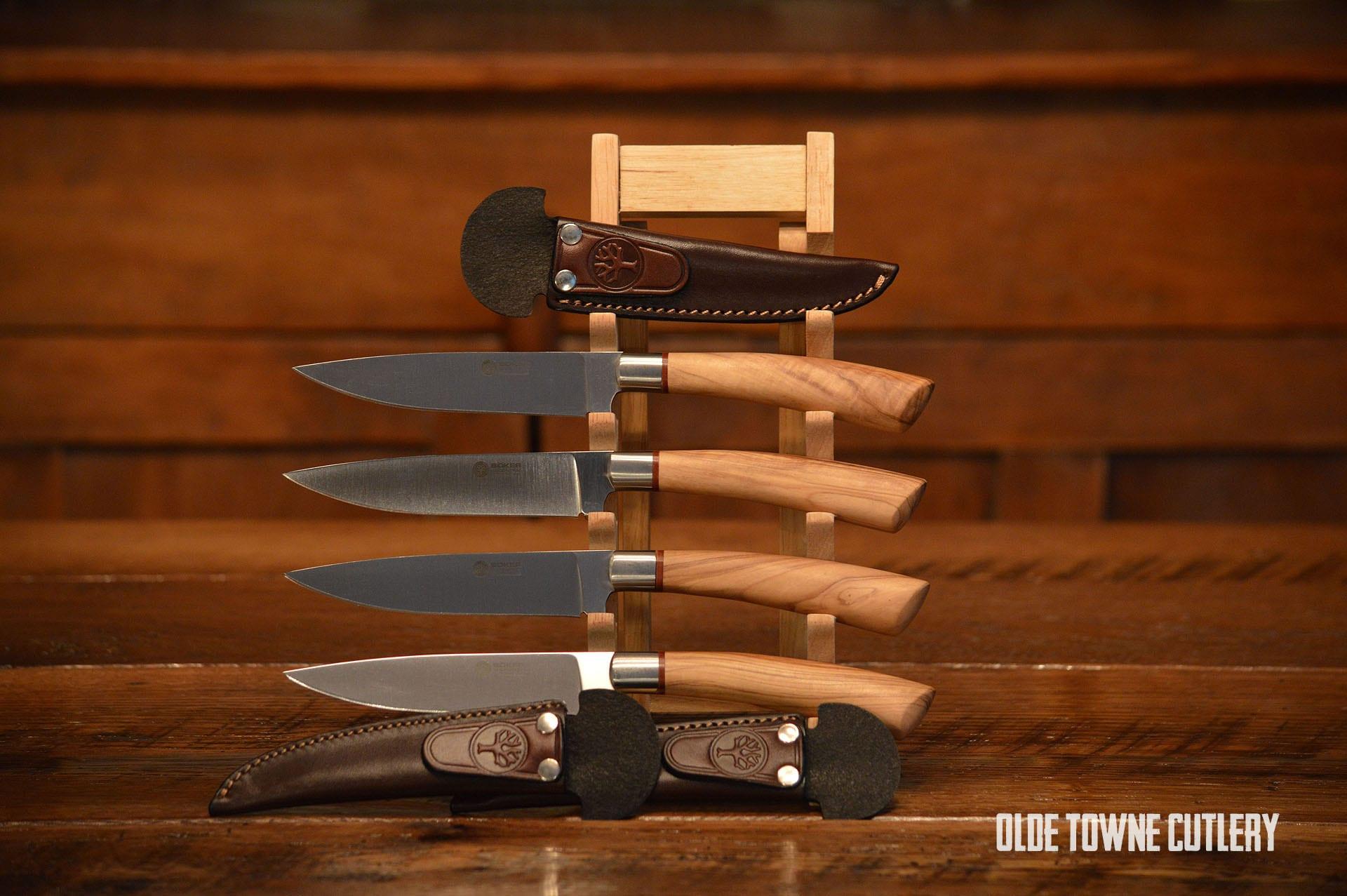 Boker Arbolito Gaucho Olive Steak Knife Knives For Sale
