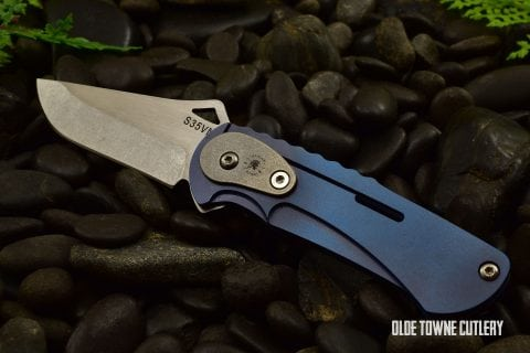 Spartan NYMPH - Folding Knife, Blue