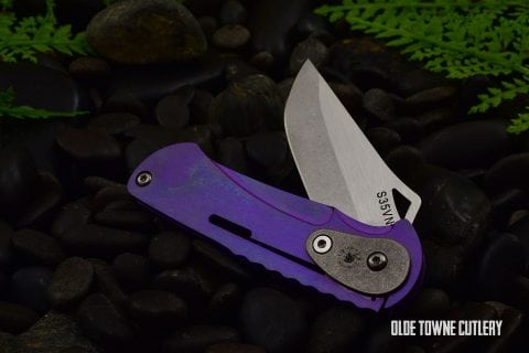 Spartan NYMPH - Folding Knife, Purple